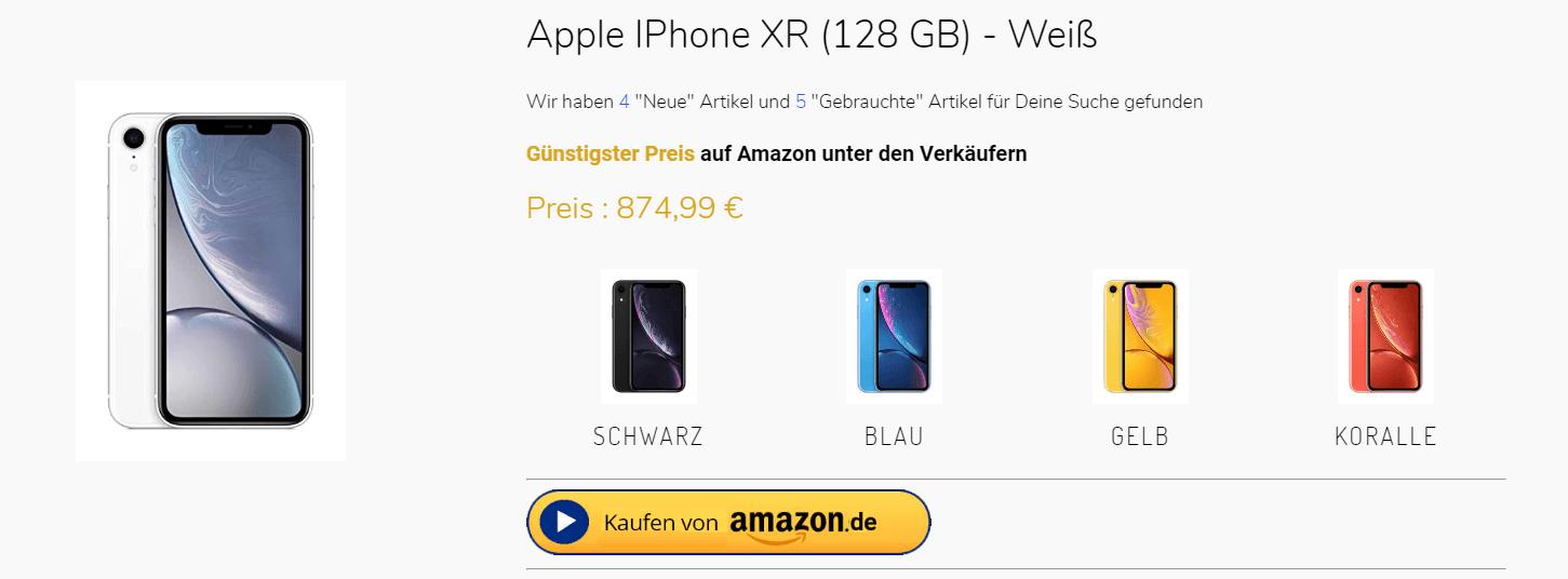 Amazon Preisvergleich lohnt sich