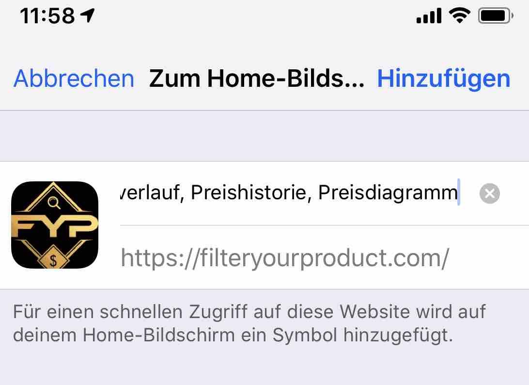 App Price Tracker Anleitung