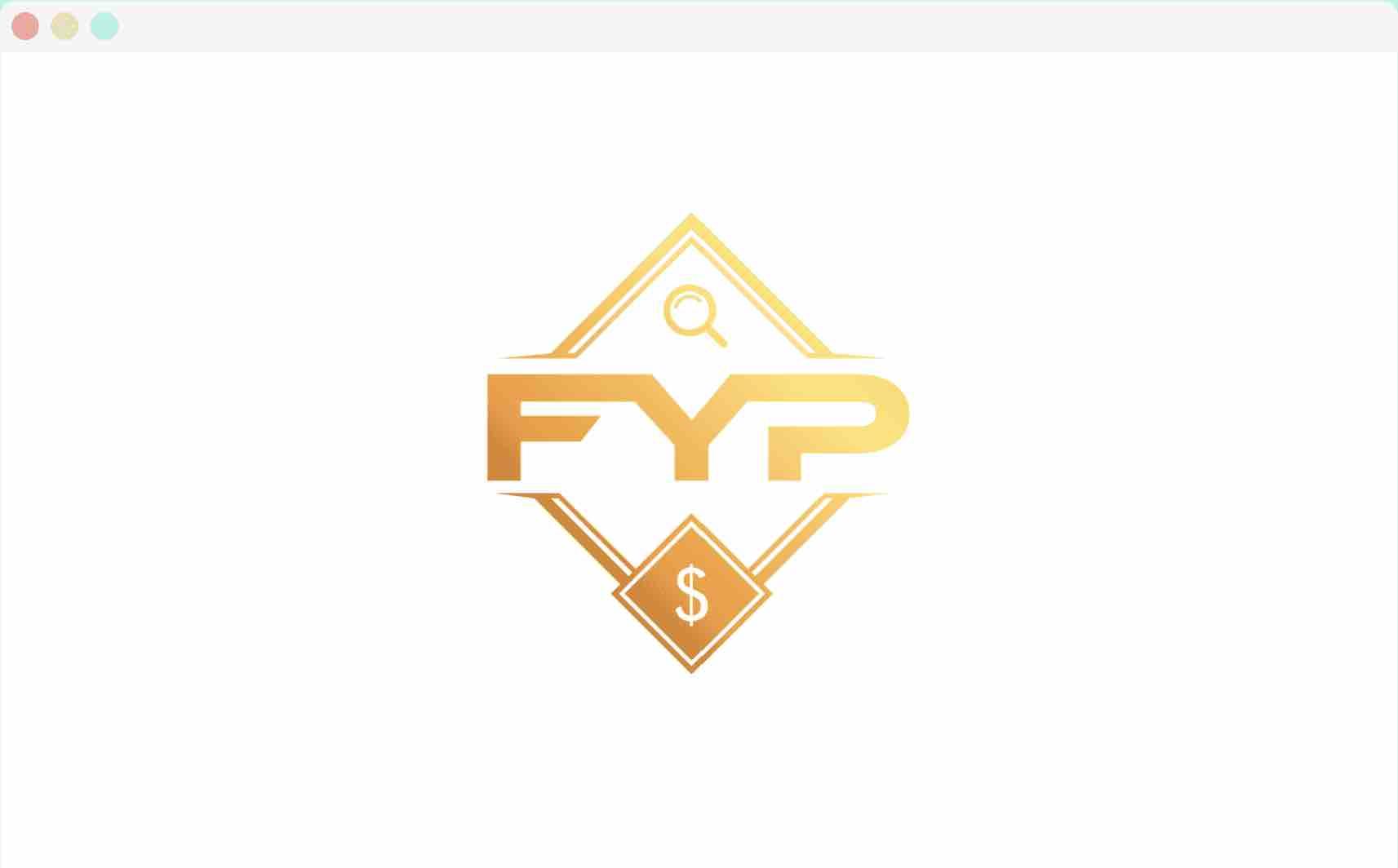 FYP im Fenster